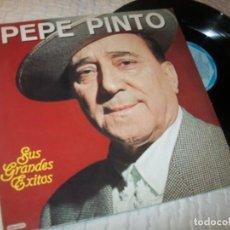 Discos de vinilo: PEPE PINTO - SUS GRANDES EXITOS ..LP DE DIAL - 1985 - BUEN RECOPILATORIO. Lote 224237953
