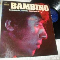 Discos de vinilo: BAMBINO - GRANDES EXITOS - DISCOSA - 1981 - RECOPILATORIO MUY DIFICIL - BUEN ESTADO. Lote 224239575
