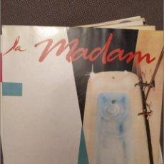 Discos de vinilo: LA MADAM: SENSE PRESSA SG PROMOCIONAL PDI 1987 NUEVO, MARC GRAU, ROCK CATALA. Lote 224242700
