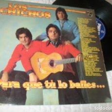 Discos de vinilo: LOS CHICHOS - PARA QUE TU LO BAILES ..LP 1981 - RECOPILACION - 47 EXITOS MEZCLADOS EN 2 POTPOURRI. Lote 224242917