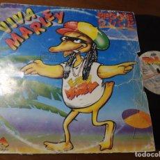 Disques de vinyle: REGGIE DUKE - VIVA MARLEY -MAXI-ESPAÑA-. Lote 224244735