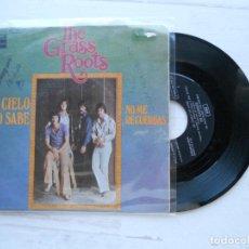 Discos de vinil: THE GRASS ROOTS – HEAVEN KNOWS (EL CIELO LO SABE) SINGLE ESPAÑOL 1969 VG++/VG+. Lote 224247388