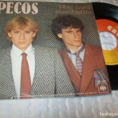 Discos de vinilo: LOS PECOS - SE PUO + NON PUOI MANCAMI .. SINGLE EN ITALIANO - LOS TEMAS SEÑOR Y SI ME FALTARAS TU. Lote 224249436