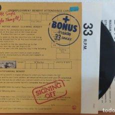Discos de vinilo: LP UB40 SIGNING OFF - FRANCE 1980. Lote 224249845