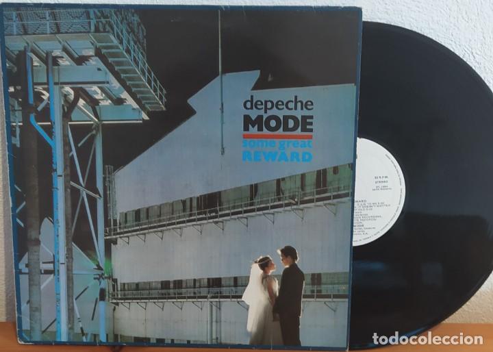 LP DEPECHE MODE -SOME GREAT REWARD (Música - Discos - LP Vinilo - Electrónica, Avantgarde y Experimental)