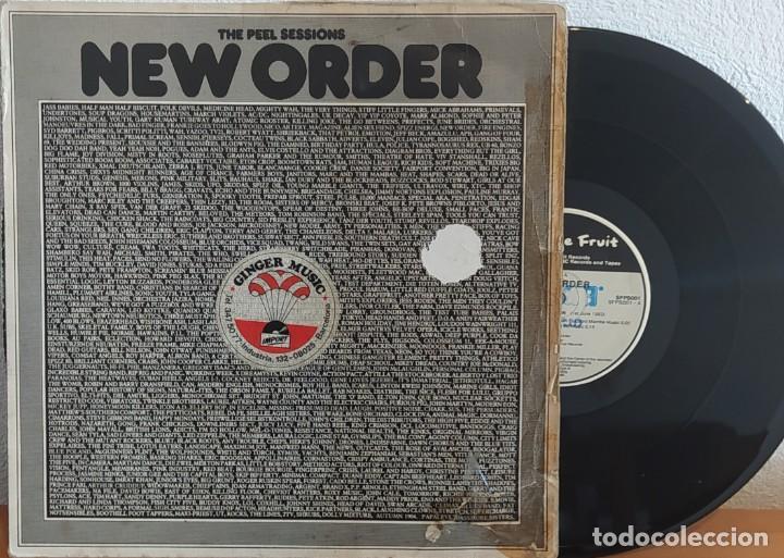 E P NEW ORDER - THE PEEL SESSIONS - UK 1986 (Música - Discos de Vinilo - EPs - Electrónica, Avantgarde y Experimental)