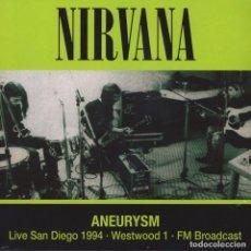 Discos de vinilo: NIRVANA * ANEURYSM LIVE SAN DIEGO 1994 * LP VINILO * 500 COPIAS!!!! PRECINTADO!. Lote 224267188