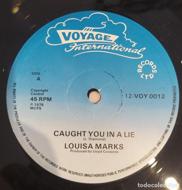 "Discos de vinilo: MAXI-SINGLE 12"" LOUISA MARKS /CLINTON GRANT - UK 1979 - Foto 2 - 224271927"