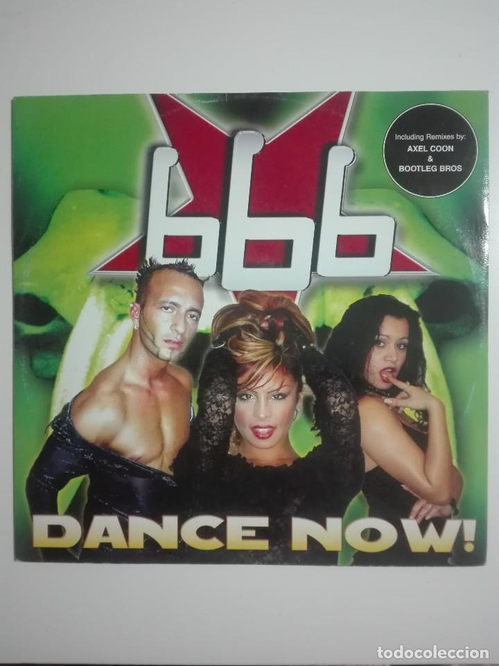 """DISCO VINILO 666 DANCE NOW AXEL COON BOOTLEG BROS - 210G - VINYL 12"""" - UNICO EN TC (Música - Discos de Vinilo - EPs - Techno, Trance y House)"""