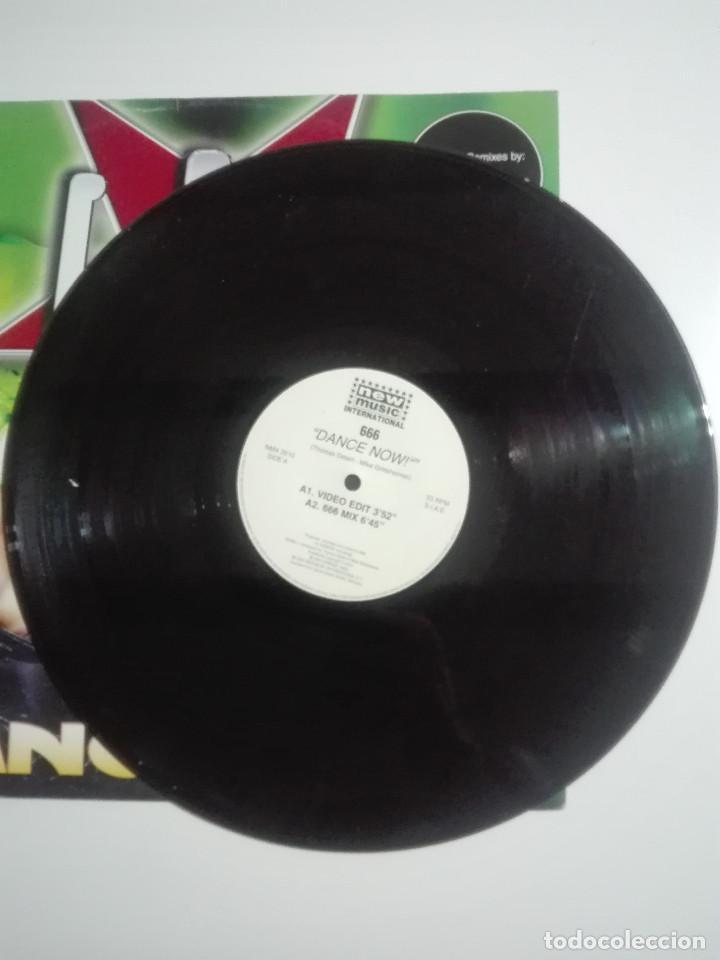 """Discos de vinilo: DISCO VINILO 666 DANCE NOW AXEL COON BOOTLEG BROS - 210g - VINYL 12"""" - UNICO EN TC - Foto 2 - 224280077"""
