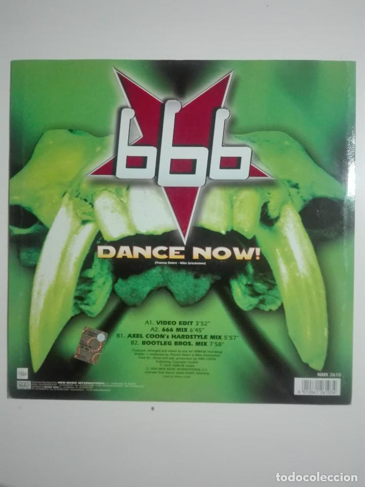 """Discos de vinilo: DISCO VINILO 666 DANCE NOW AXEL COON BOOTLEG BROS - 210g - VINYL 12"""" - UNICO EN TC - Foto 3 - 224280077"""
