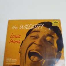 Disques de vinyle: LOUIS PRIMA THE WILDEST BANANA SPLIT FOR MY BABY + 3 ( CAPITOL FRANCE ). Lote 224285028