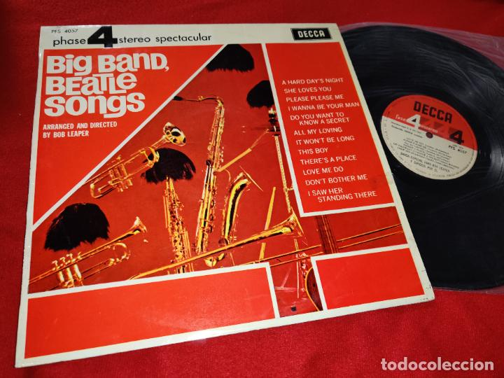 BOB LEAPER BIG BAND BEATLE SONGS LP 1964 DECCA 4 FASE PHASE BEATLES ESPAÑA SPAIN (Música - Discos - LP Vinilo - Orquestas)