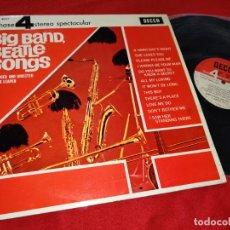 Disques de vinyle: BOB LEAPER BIG BAND BEATLE SONGS LP 1964 DECCA 4 FASE PHASE BEATLES ESPAÑA SPAIN. Lote 224287851