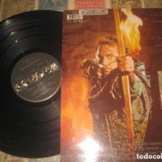 Discos de vinilo: ROBIN HOOD, PRINCE OF THIEVES - MÚSICA DE BRYAN ADAMS - BANDA SONORA ORIGINAL - MAXI SINGLE 4 TEMAS. Lote 224294028