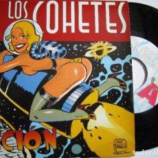 Discos de vinilo: LOS COHETES ACCION DISCO DE 4 CANCIONES AÑO 1.995. Lote 224294753