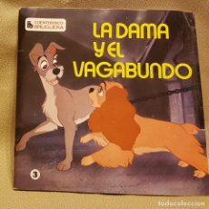 Discos de vinilo: LA DAMA Y EL VAGABUNDO - CUENTADISCO BRUGUERA. Lote 224296562