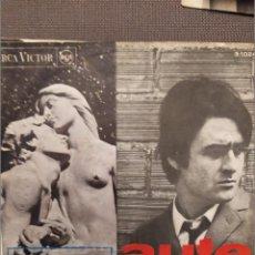 Discos de vinil: LUIS EDUARDO AUTE VERSION ORIGINAL EN CATALAN AL·LELUIA 1 , ROIG DAMUNT NEGRE RCA 1967. Lote 224304301
