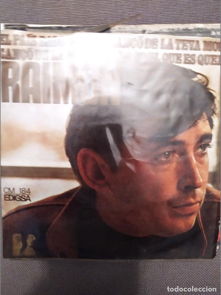 Discos de vinilo: LOTE 2 DISCOS RAIMON: EL PAIS BASC / NDESINENTER, 1967-1968 CONTRACUBIERTA ANDREU ALFARO - Foto 2 - 224304916