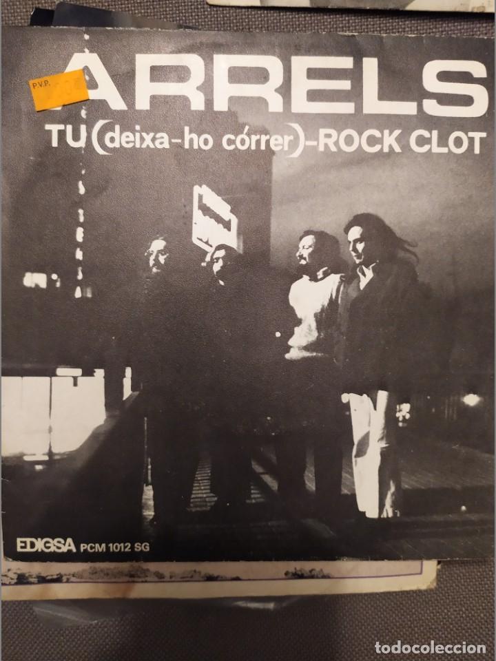 ARRELS: TU (DEIXA-HO CORRER), ROCK SLOT EDIGSA 1973 ROCK CATALAN (Música - Discos - Singles Vinilo - Grupos Españoles de los 70 y 80)