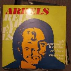 Discos de vinilo: ARRELS: VULL APRENDRE A CANTAR/REVIURE/EN FER-SE CLAR, BEE GEES EDIGSA 1973 ROCK CATALAN. Lote 224306630