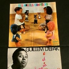 Discos de vinilo: CONTES EN CATALÀ (EP. 1962-66) ELS ANGELS CONFITERS - EL DIMONI CUCARELL - GUILLEM D'EFAK - PRUNEDA. Lote 224311212