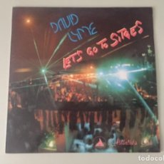 Disques de vinyle: DAVID LYME - LETS GO TO SITGES. Lote 224317460