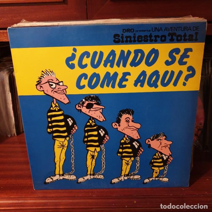 SINIESTRO TOTAL / ¿ CUANDO SE COME AQUI ? / DRO 1982 (Música - Discos - LP Vinilo - Punk - Hard Core)