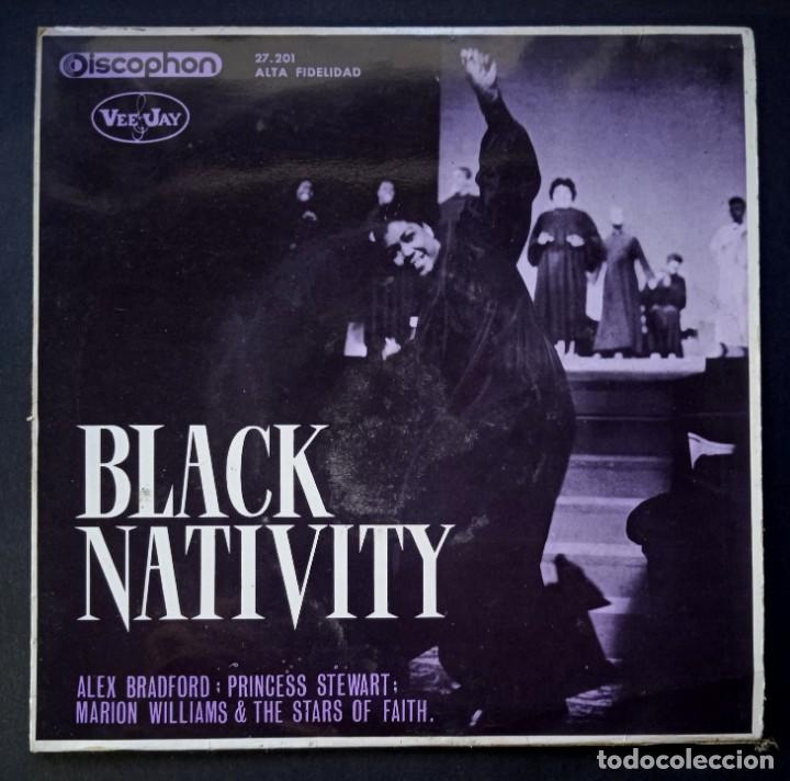 ALEX BRADFORD - BLACK NATIVITY - EP 1963- DISCOPHON (Música - Discos de Vinilo - EPs - Funk, Soul y Black Music)