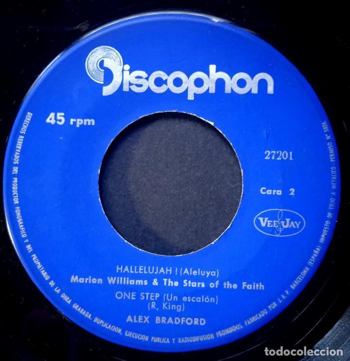 Discos de vinilo: ALEX BRADFORD - black nativity - EP 1963- DISCOPHON - Foto 3 - 224338042