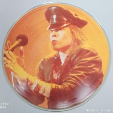 "Discos de vinilo: GUNS 'N ROSES -WELCOME LIVE- 12"" PICTURE DISC. Lote 224338491"