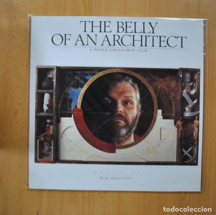 WIM MERTENS - THE BELLY OF AN ARCHITECT - LP (Música - Discos - LP Vinilo - Bandas Sonoras y Música de Actores )
