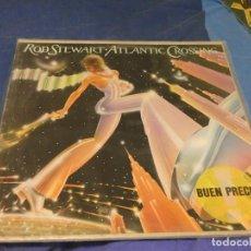 Dischi in vinile: EXPRO LP ESPAÑA 83 ROD STEWART ATLANTIC CROSSING VINILO BUEN ESTADO. Lote 224344688
