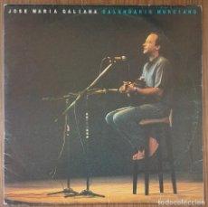 Discos de vinilo: LP JOSE MARÍA GALIANA CALENDARIO MURCIANO. Lote 224345135