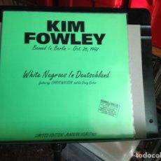 Discos de vinilo: KIM FOWLEY (SONIC YOUTH, NIRVANA) - WHITE NEGROES IN DEUTSCHLAND / ALBUM LP GREEN VINYL US 1993. M-M. Lote 224351405