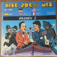 Discos de vinilo: LP DOBLE DISC JOCKEY MIX VOLUMEN 2. Lote 224366121