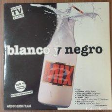 Disques de vinyle: LP DOBLE BLANCO Y NEGRO MIX 2. Lote 224366443