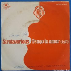 Discos de vinilo: SINGLE / STRATAVARIOUS / TENGO TU AMOR (1Y2) / CARNABY MO-1642 / 1976 PROMO. Lote 224375475