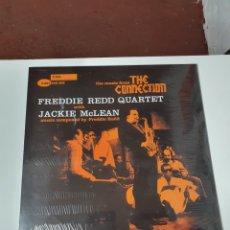 Disques de vinyle: THE MUSIC FROM THE CONNECTION, FREDDIE RED QUARTET, JACKIE MCLEAN, NUEVO SIN ESTRENAR PRECINTO ORIGI. Lote 224383135