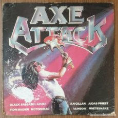 Discos de vinilo: LP AXE ATTACK. Lote 224383788