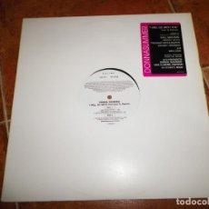 Discos de vinilo: DONNA SUMMER I WILL GO WITH YOU (CON TE PARTIRÓ ) MAXI SINGLE VINILO PROMO DEL AÑO 1999 5 TEMAS. Lote 224384741