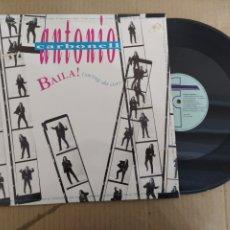 Discos de vinilo: MM DISCO DE VINILO - ANTONIO CARBONELL - BAILA! (SWING DA COR). Lote 224388048