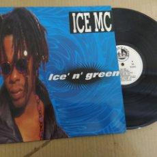 Disques de vinyle: MM DISCO DE VINILO - ICE MC - ICE´ N´ GREEN. Lote 224389820