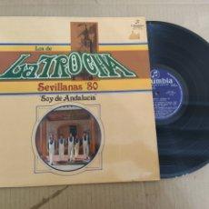 Discos de vinilo: MM DISCO DE VINILO - LOS DE LA TROCHA - SOY DE ANDALUCÍA. Lote 224390001