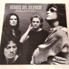 Discos de vinilo: HEROES DEL SILENCIO - AVALANCHA (LP 1995, EMI 7243 5 35530 1 3). Lote 224394377