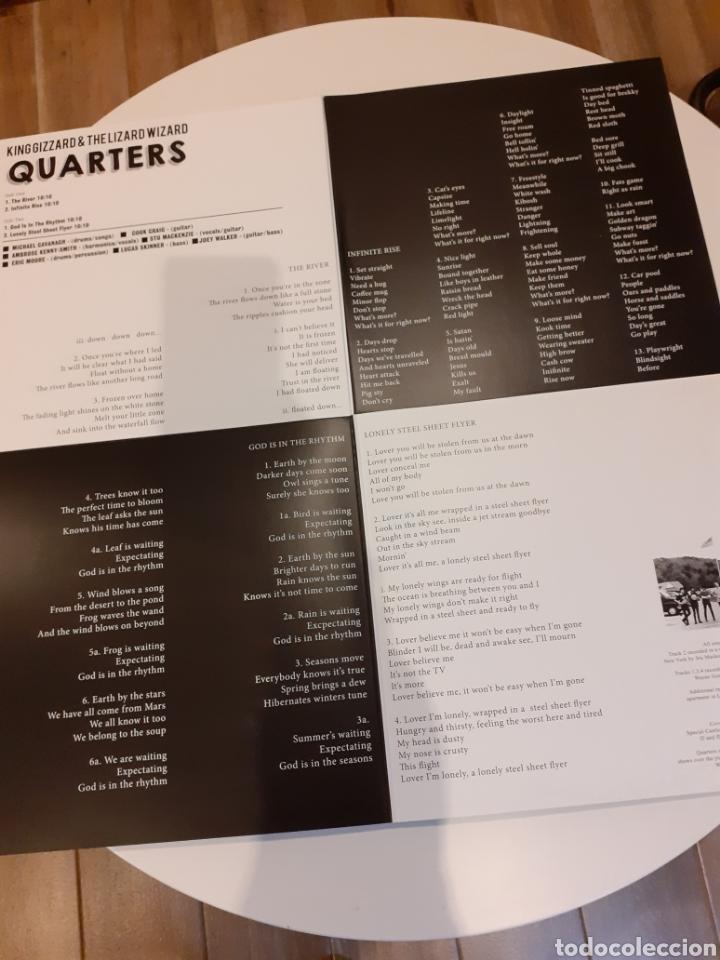 Discos de vinilo: King Gizzard & lizard.. Quarters - Foto 2 - 224396090