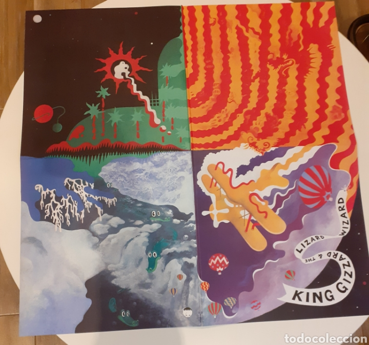 Discos de vinilo: King Gizzard & lizard.. Quarters - Foto 3 - 224396090