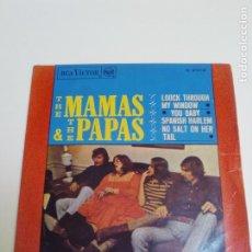 Discos de vinilo: THE MAMAS AND THE PAPAS LOOK THROUGH MY WINDOW + 3 ( 1966 RCA VICTOR ESPAÑA ). Lote 224399810