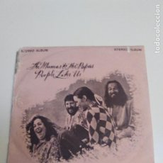 Discos de vinilo: THE MAMAS AND THE PAPAS PEOPLE LIKE US 6 CANCIONES ( 1971 DUNHILL USA ). Lote 224399923