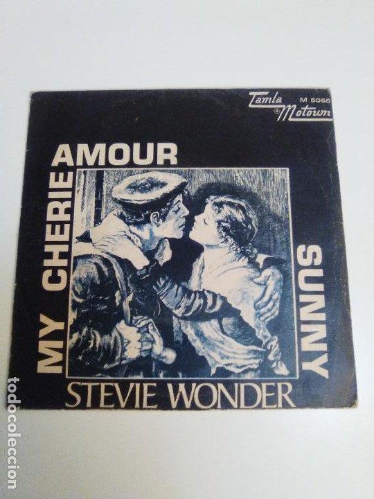STEVIE WONDER MY CHERIE AMOUR / SUNNY ( 1969 TAMLA MOTOWN ESPAÑA ) (Música - Discos - Singles Vinilo - Funk, Soul y Black Music)